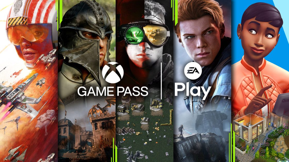 EA Play on XBOX Game Pass